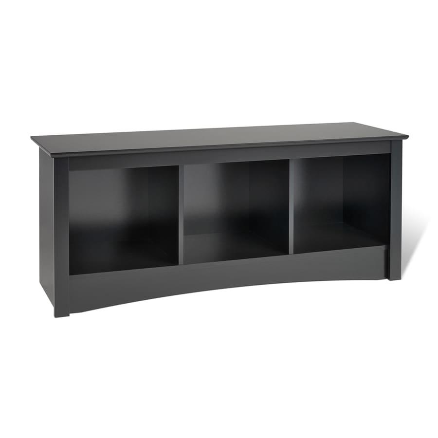 Prepac Furniture Black Indoor Accent Bench