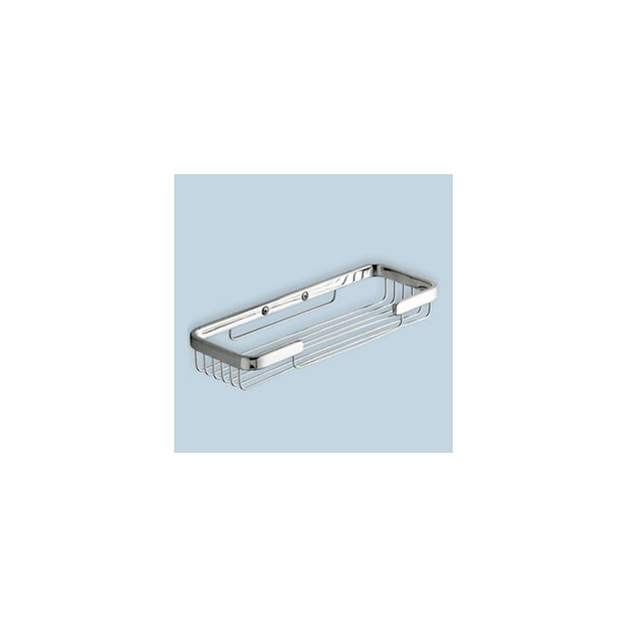 Nameeks Gedy Wire Chrome Brass Wall-Mounted Double Soap Dish