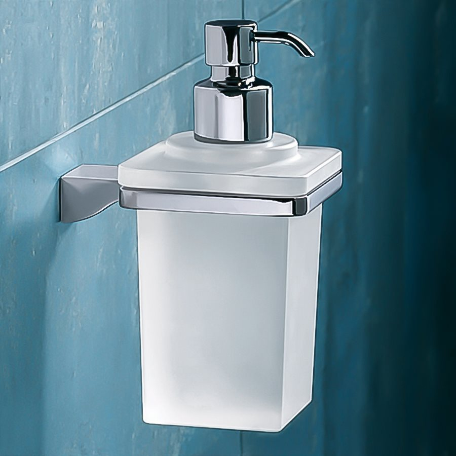 Nameeks Gedy Glamour Chrome Soap and Lotion Dispenser