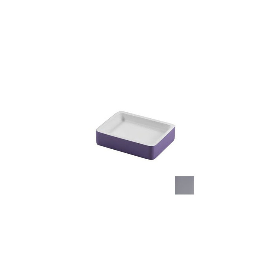 Nameeks Gedy Arianna Silver Resin Soap Dish
