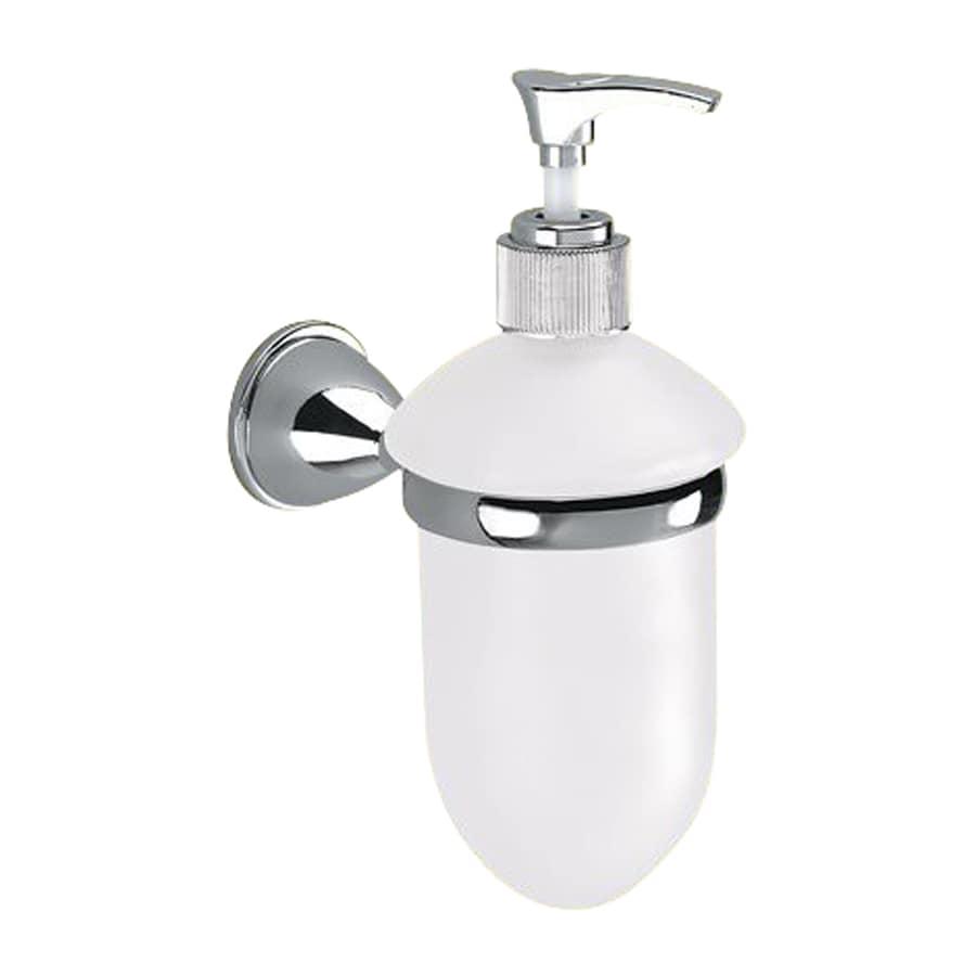 Nameeks Genziana Chrome Soap and Lotion Dispenser