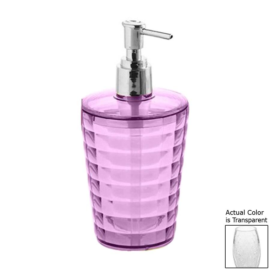 Nameeks Glady Transparent Soap and Lotion Dispenser