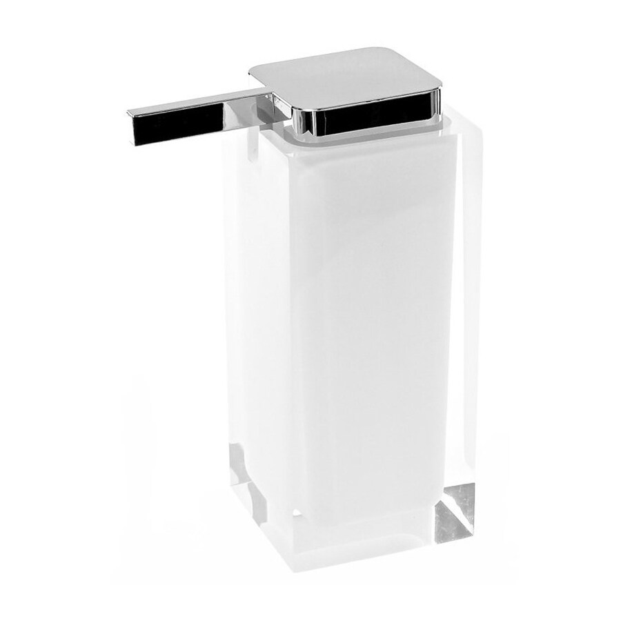 Nameeks Gedy Rainbow White Soap and Lotion Dispenser
