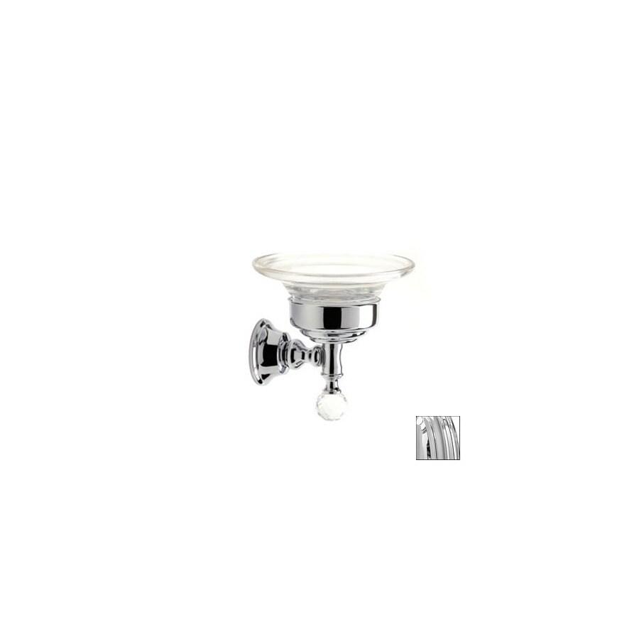 Nameeks Stilhaus Smart Light Chrome Glass Soap Dish