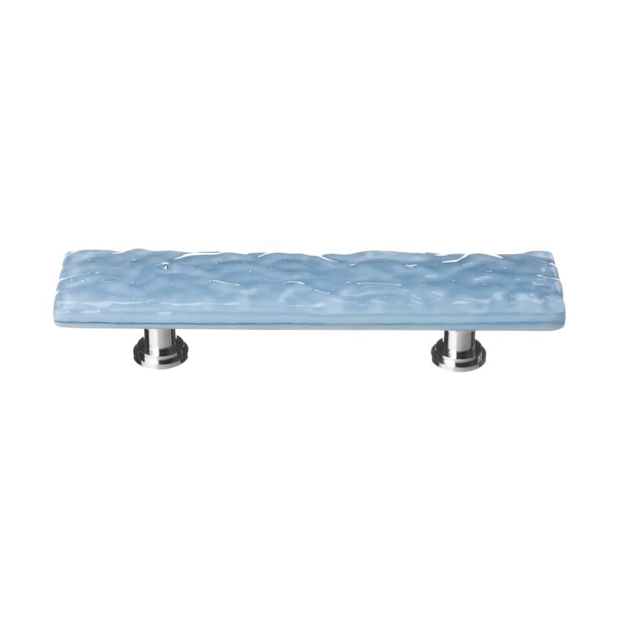 Sietto 3-in Center-to-Center Polished Chrome Glacier Rectangular Cabinet Pull