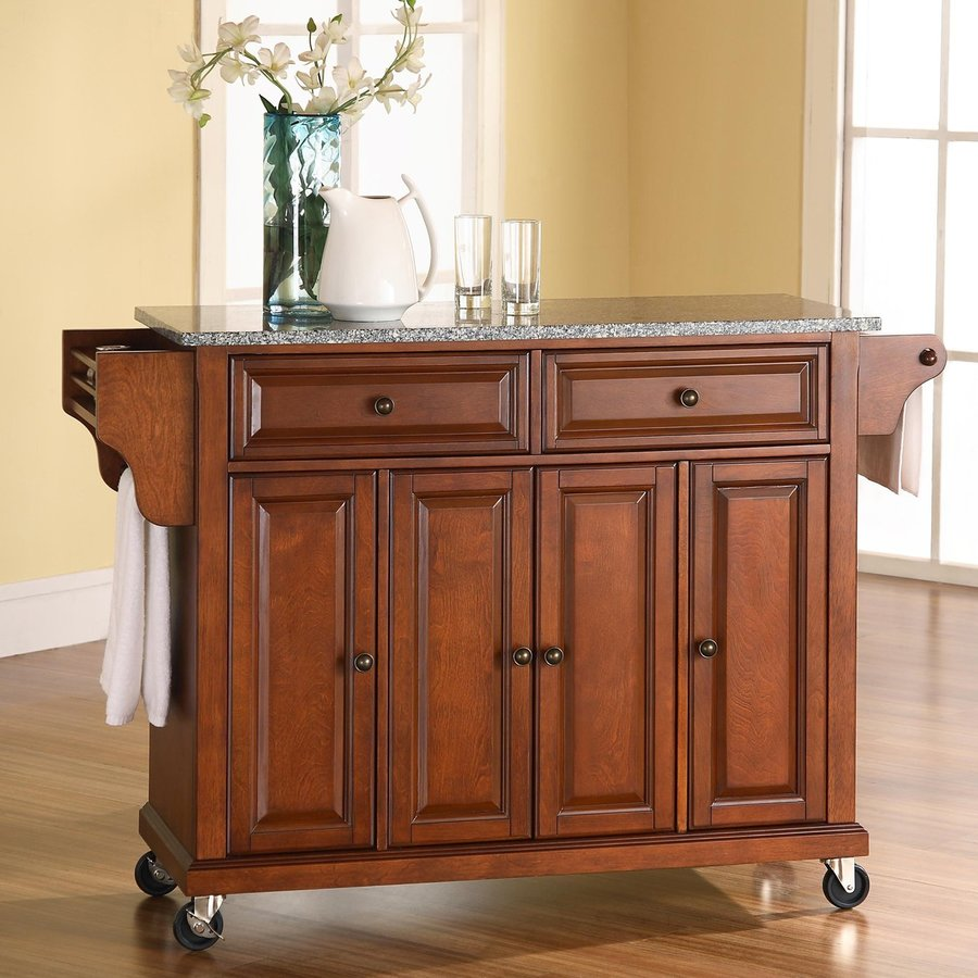Kitchen Island Furniture Product: Shop Crosley Furniture 52-in L X 18-in W X 36-in H Classic