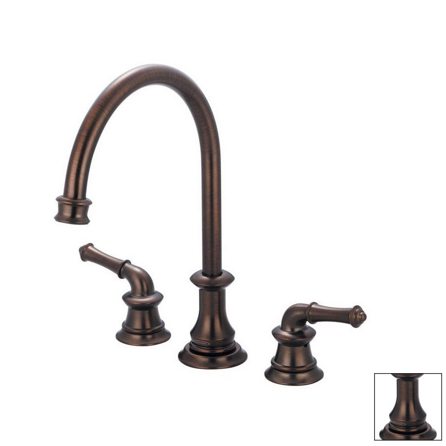 shop pioneer industries del mar oil rubbed bronze high arc