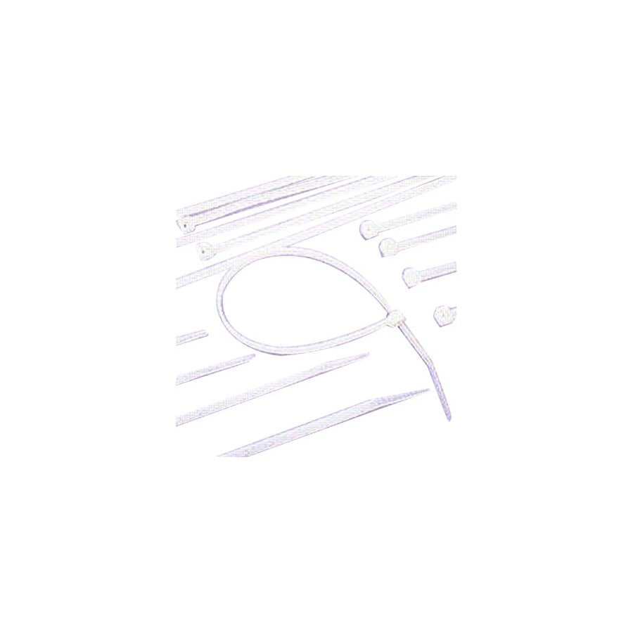 Morris Products 100-Pack 15-in Nylon Cable Tie