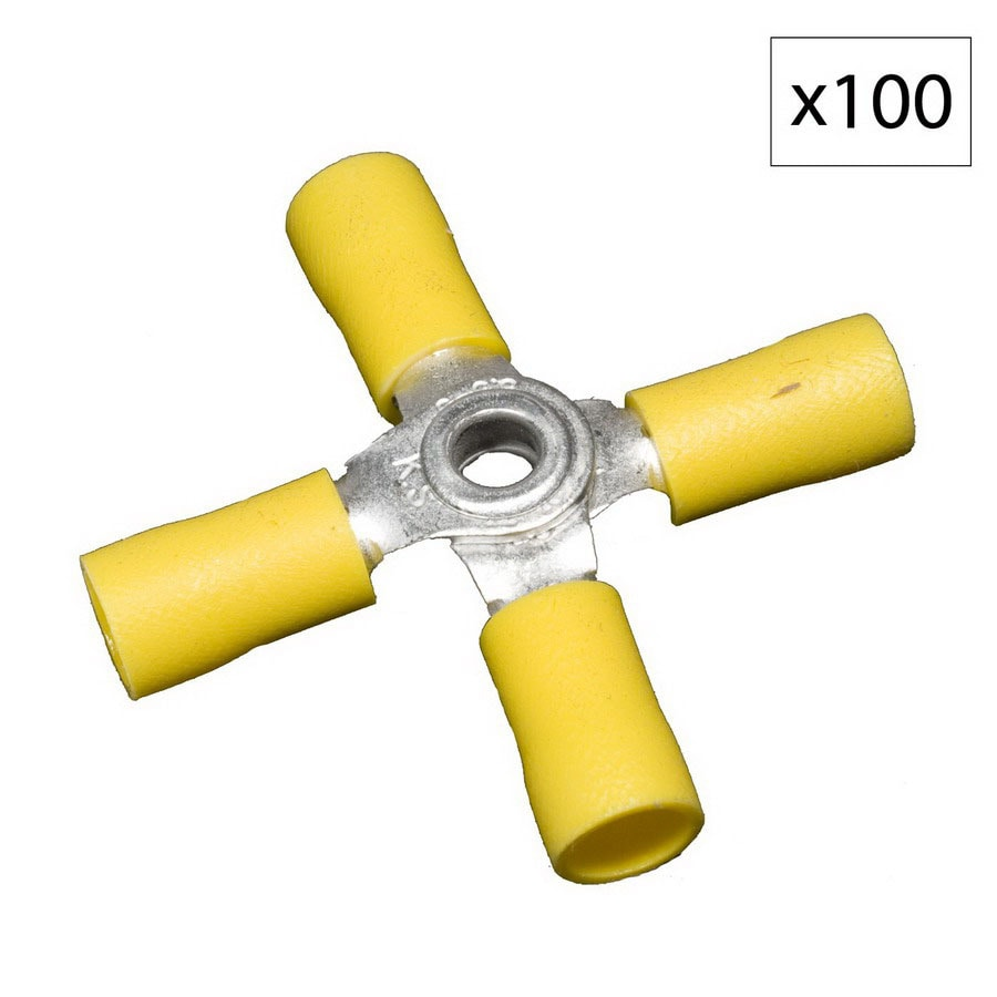 Morris Products 48-Amp 600-Volt Yellow 4-Wire Connector