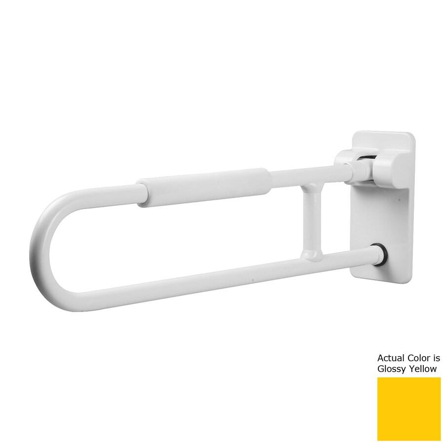 Ponte Giulio USA Glossy Yellow Wall Mount Folding Grab Bar