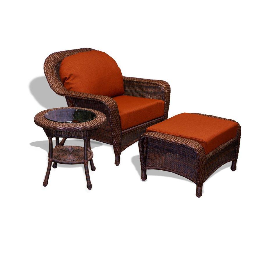 Shop tortuga outdoor lexington java wicker conversation for Outdoor furniture 0 finance