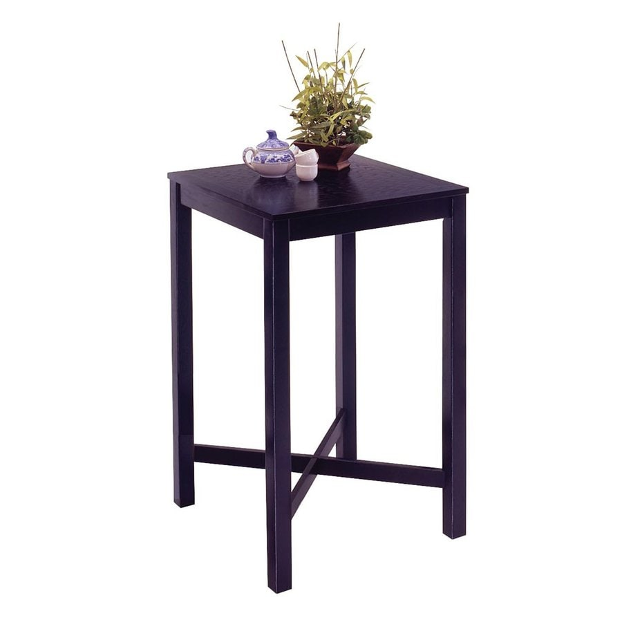 Home Styles Black Square Bistro Table