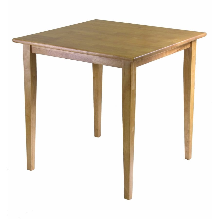 Winsome Wood Groveland Light Oak Square Bistro Table