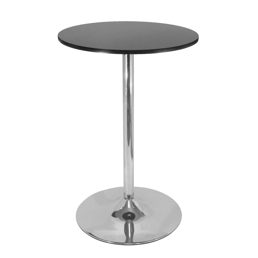 Winsome Wood Black/Metal Round Bistro Table