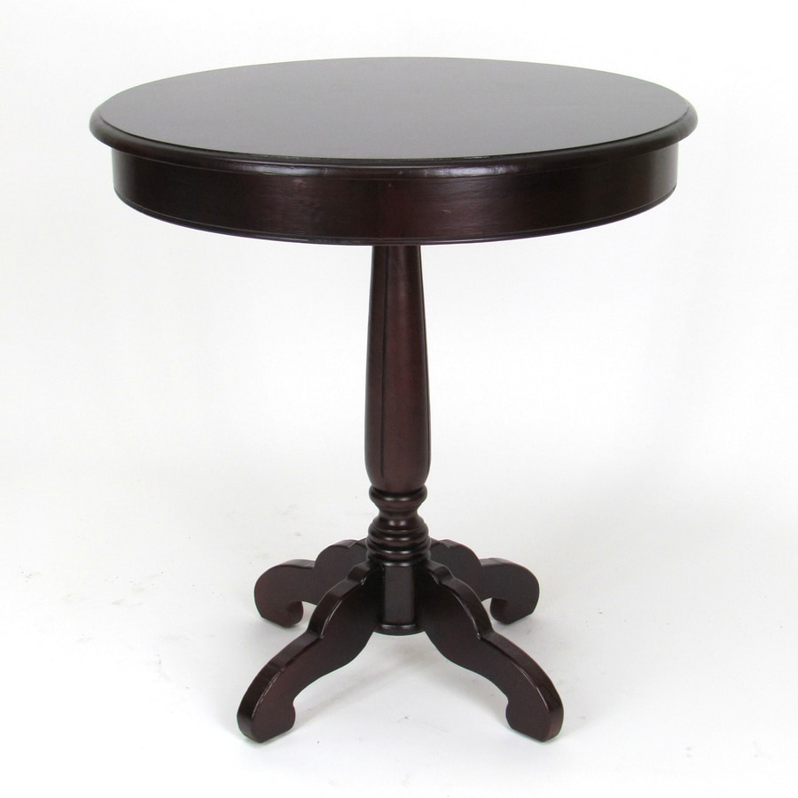 Wayborn Furniture Column Brown Round Dining Table