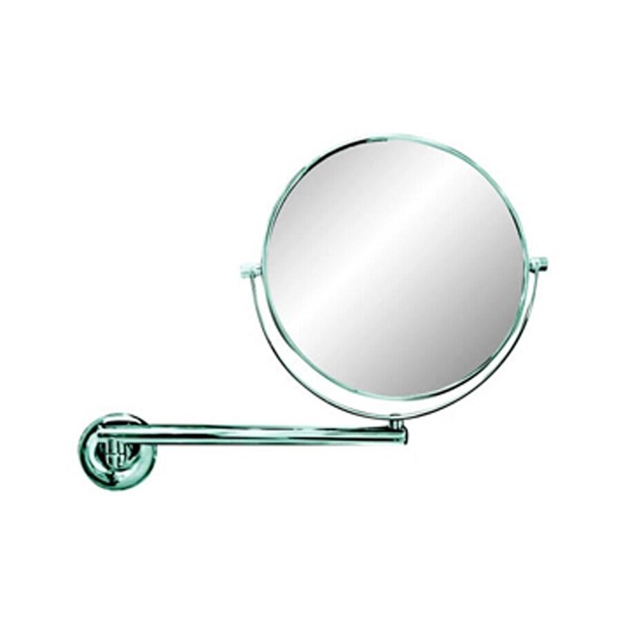 Nameeks Luna Chromed Brass Magnifying Wall-Mounted Vanity Mirror