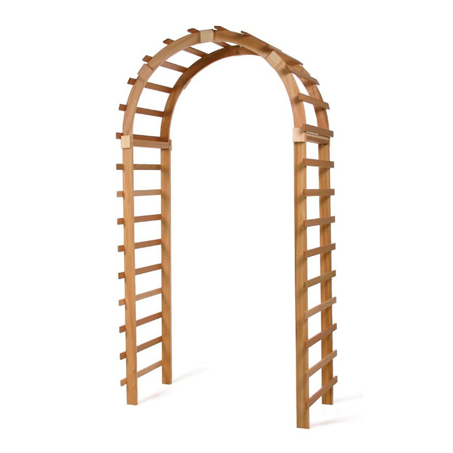 All Things Cedar Natural Garden Arbor