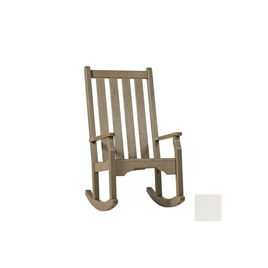 White Plastic Outdoor Rocking Chairs Uploaded By Famous, White, Best ...