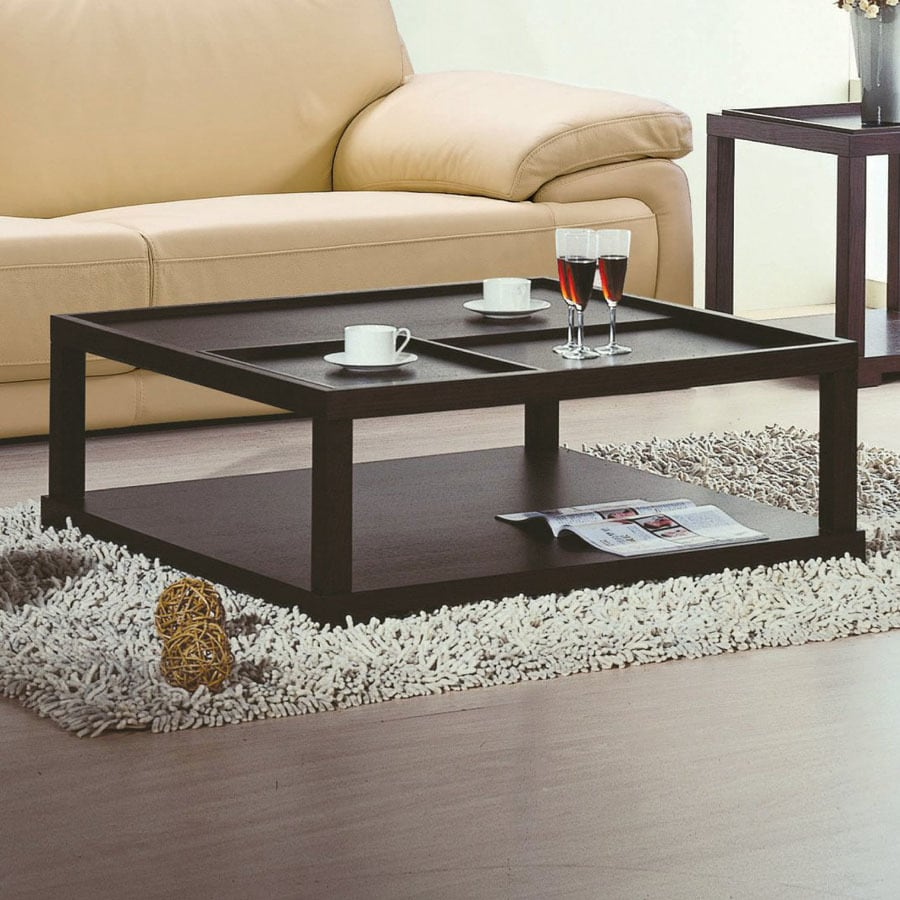 Shop BH Design Parson Oak Square Coffee Table At