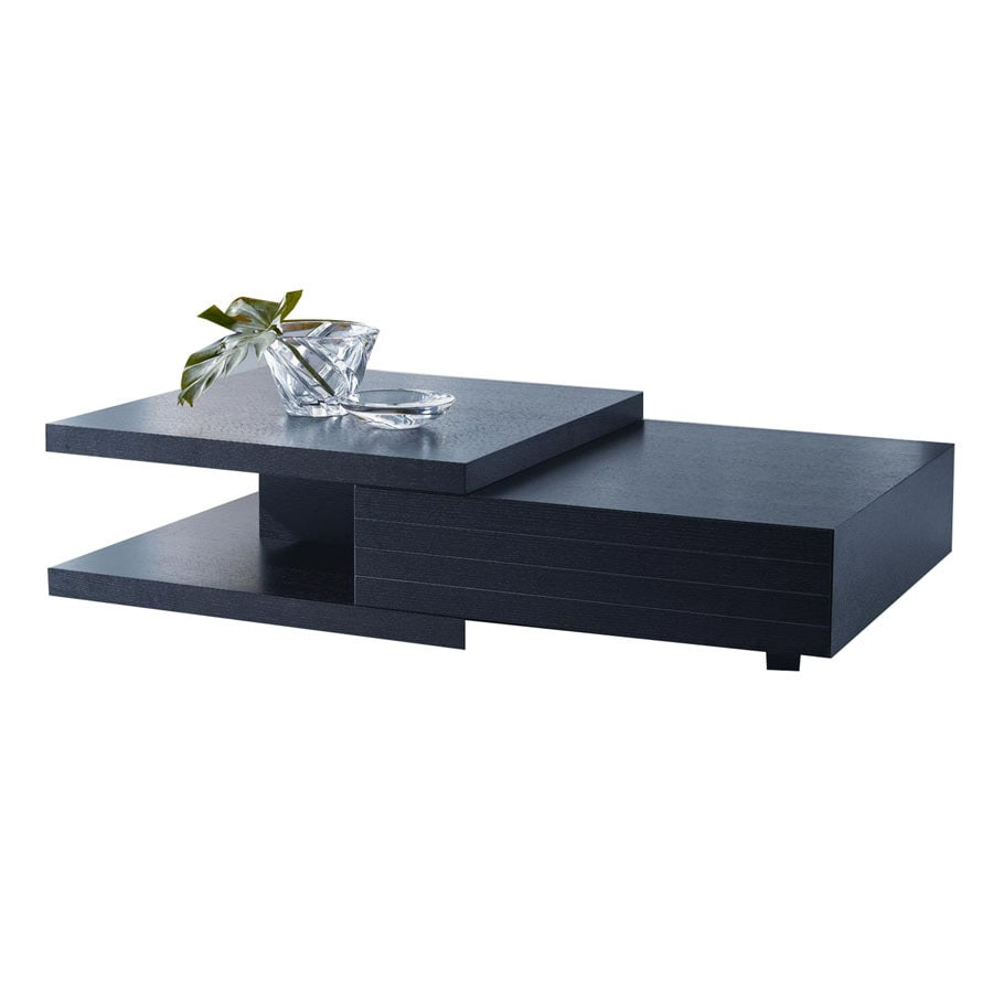 Shop New Spec Cota Black Rectangular Coffee Table At