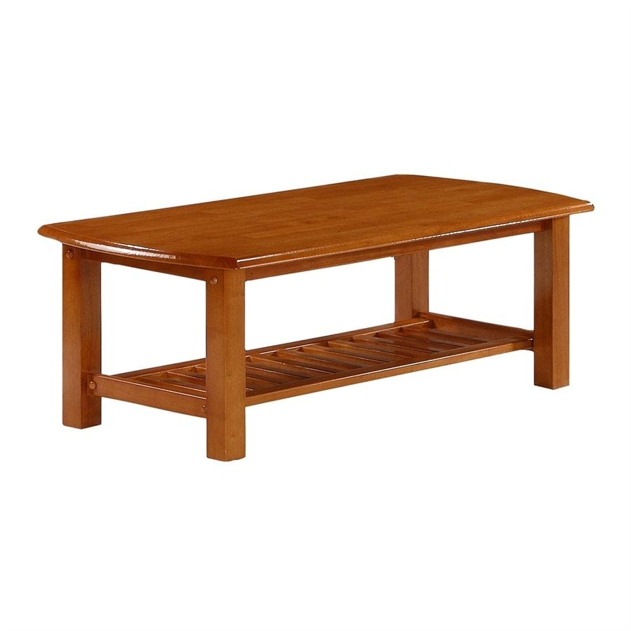Night & Day Furniture Standard Honey Oak Rectangular Coffee Table