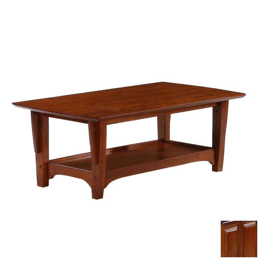 Night & Day Furniture Premium Cherry Rectangular Coffee Table