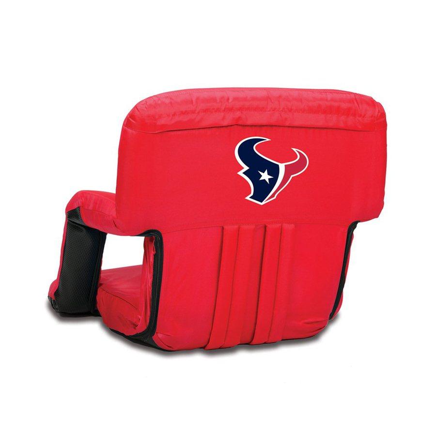 Picnic Time Indoor/Outdoor Steel Houston Texans Bleacher Folding Chair