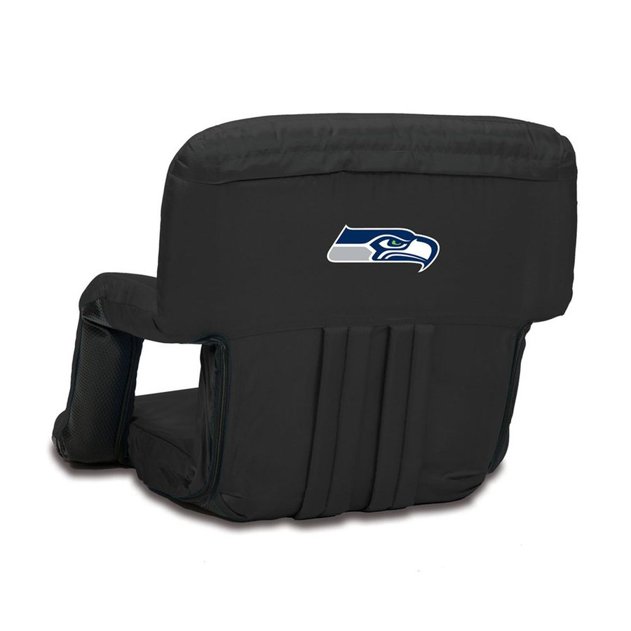 Picnic Time Indoor/Outdoor Steel Seattle Seahawks Bleacher Folding Chair