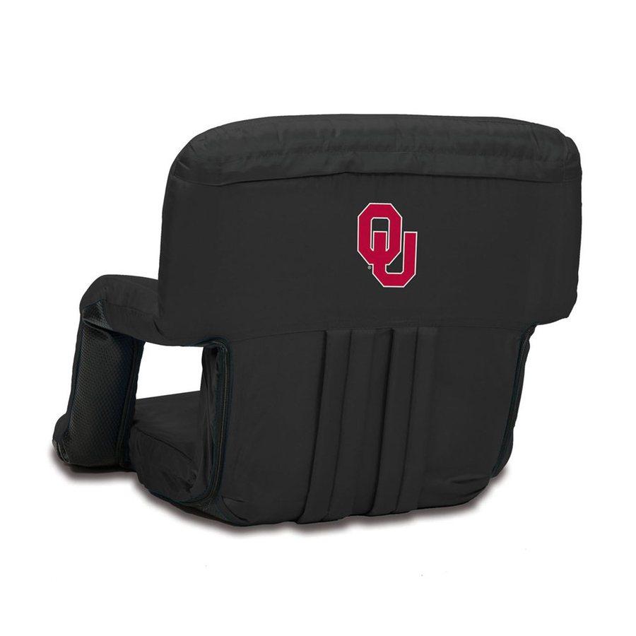 Picnic Time Indoor/Outdoor Steel Oklahoma Sooners Bleacher Folding Chair