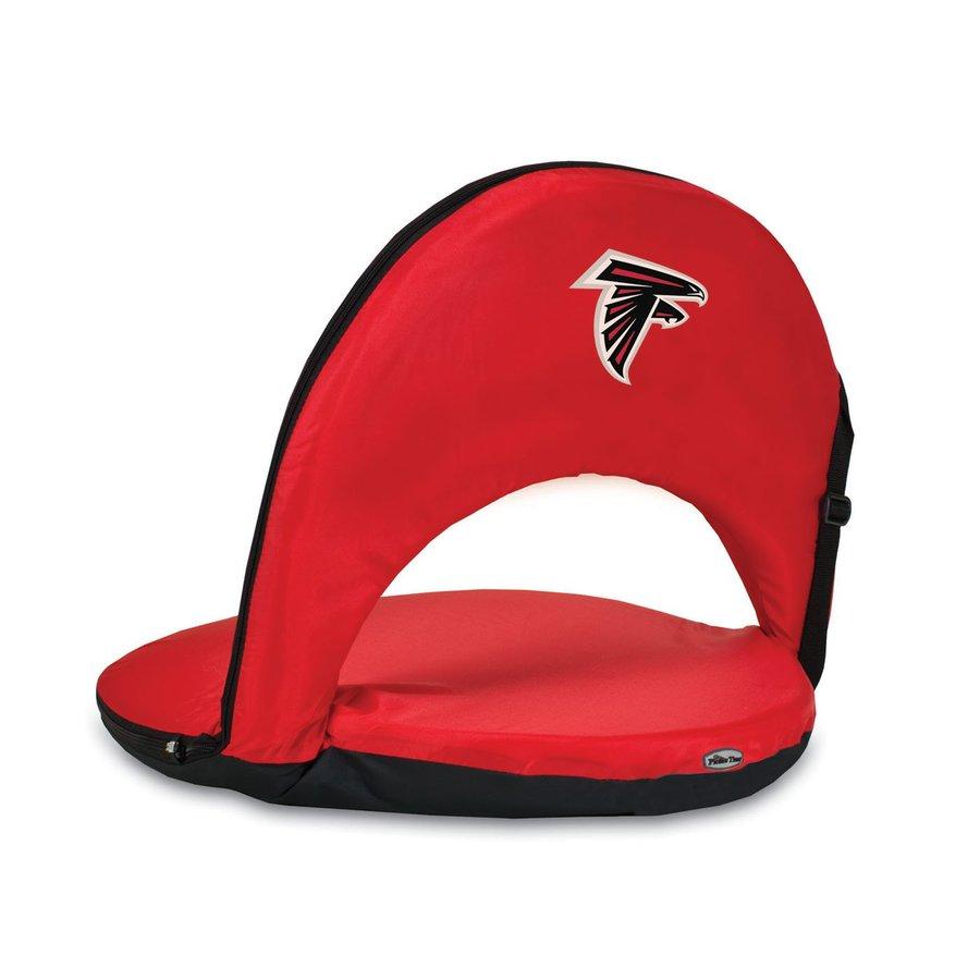 Picnic Time Indoor/Outdoor Steel Atlanta Falcons Bleacher Folding Chair