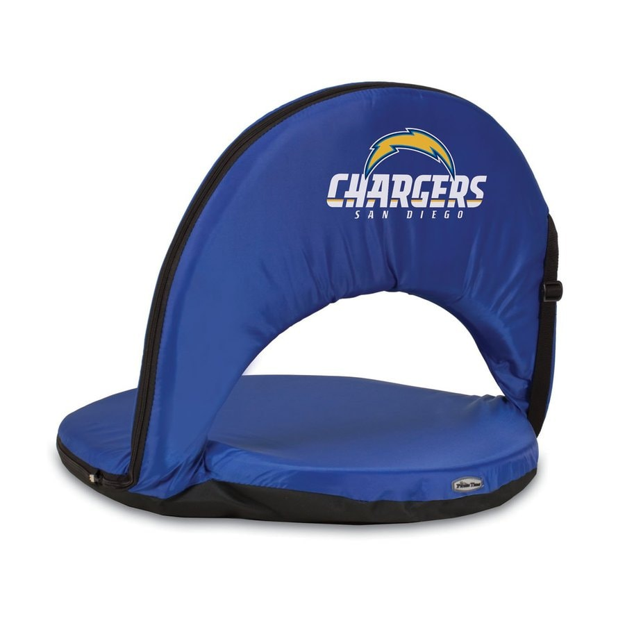 Picnic Time Indoor/Outdoor Steel San Diego Chargers Bleacher Folding Chair