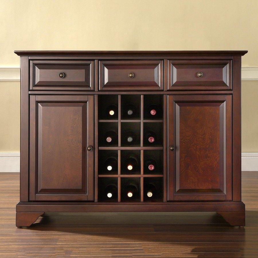 Crosley Furniture Lafayette Vintage Mahogany Rectangular Buffet