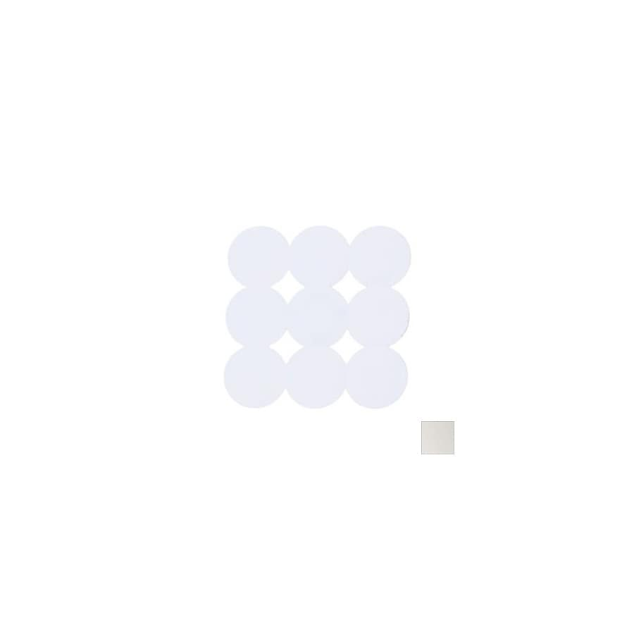 Nameeks Giotto 21.456-in x 21.456-in White Rubber Bath Mat
