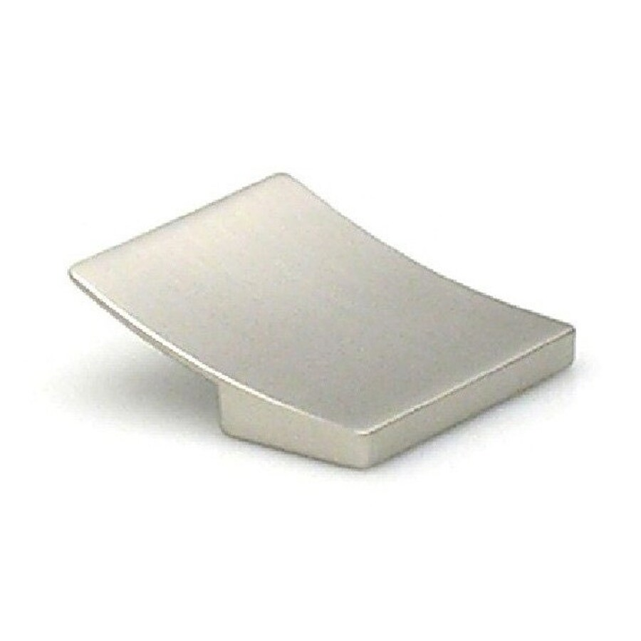 Topex Hardware 1-1/4-in Center-to-Center Satin Nickel Italian Designs Rectangular Cabinet Pull