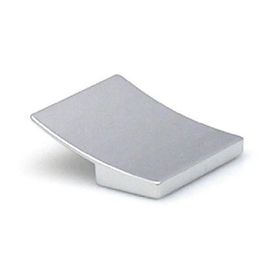 Topex Hardware 1-1/4-in Center-to-Center Bright Chrome Italian Designs Rectangular Cabinet Pull
