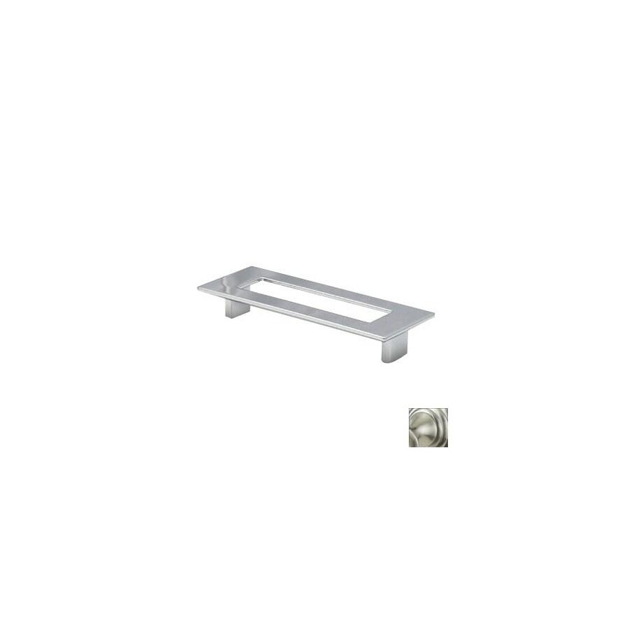 Topex Hardware 5-in Center-to-Center Satin Nickel Italian Designs Rectangular Cabinet Pull
