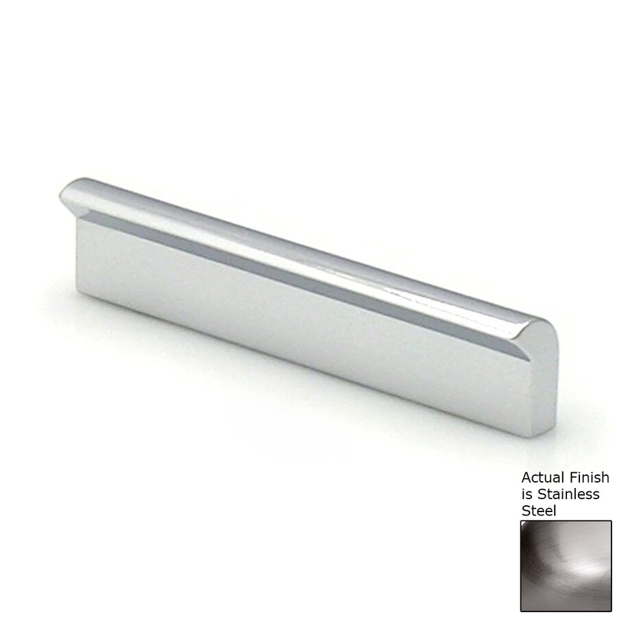 Topex Hardware 2-1/2-in Center-to-Center Stainless Steel Contemporary Bar Cabinet Pull