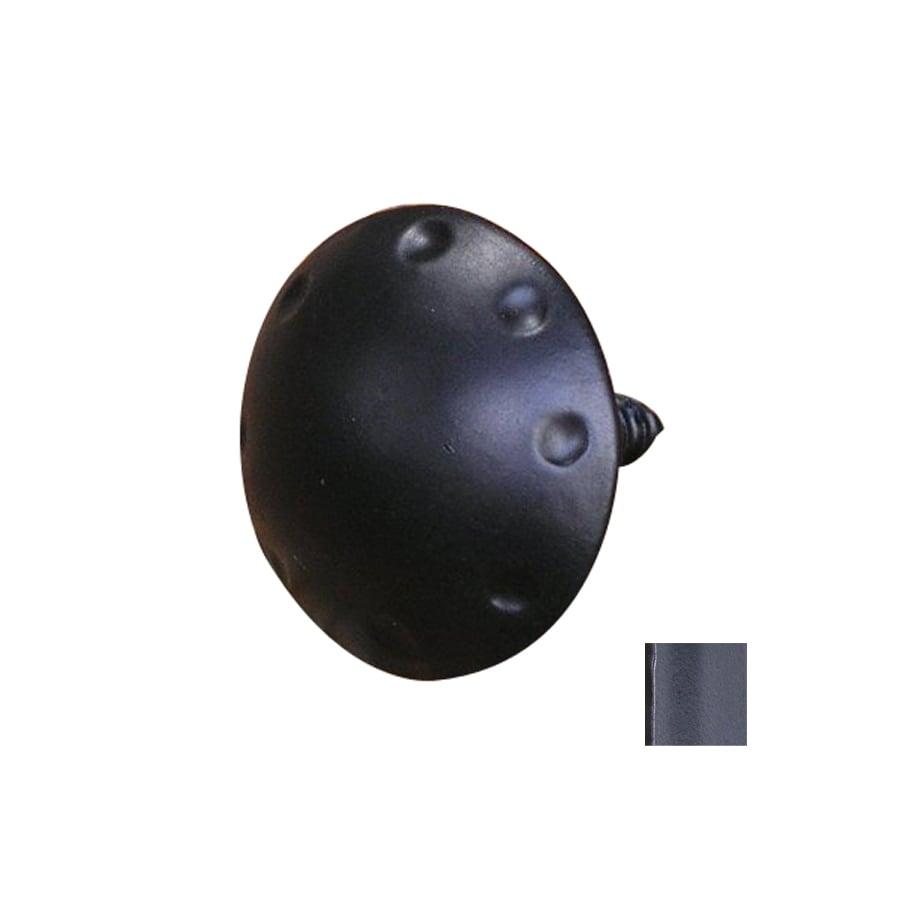Artesano Iron Works 1-1/2-in Semi-Matte Black Mushroom Cabinet Knob