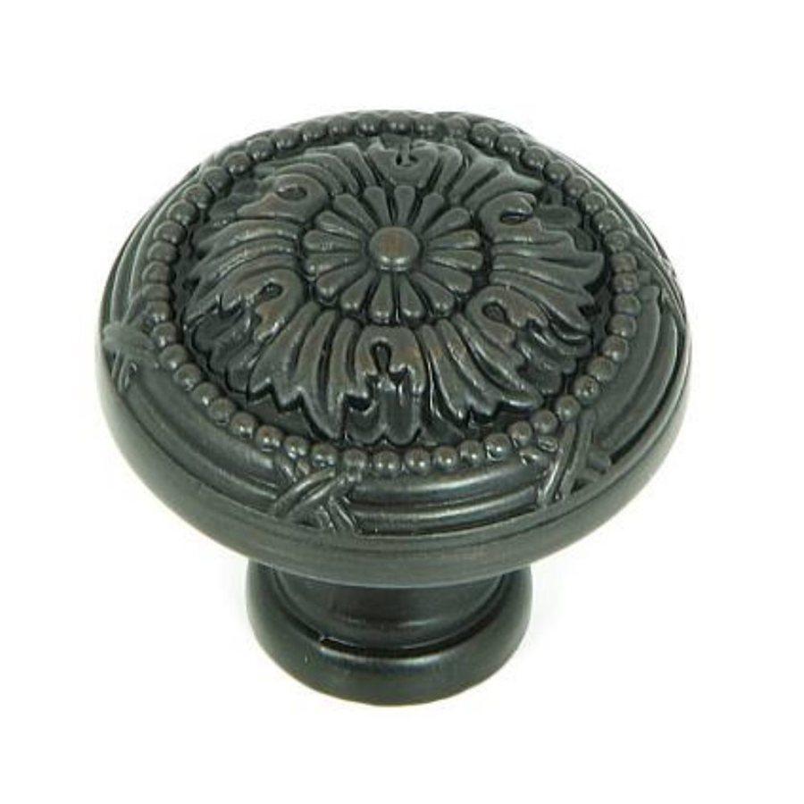 Stone Mill Hardware Cornell Oil-Rubbed Bronze Round Cabinet Knob