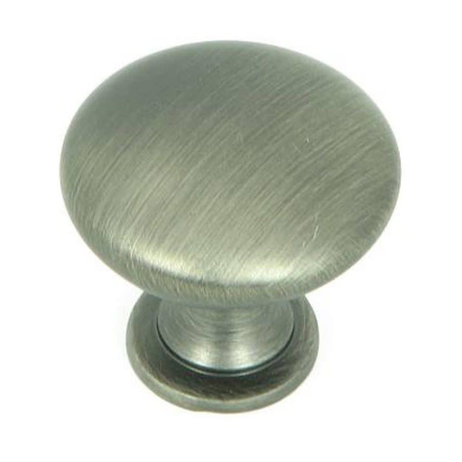 Stone Mill Hardware Princeton Weathered Nickel Round Cabinet Knob