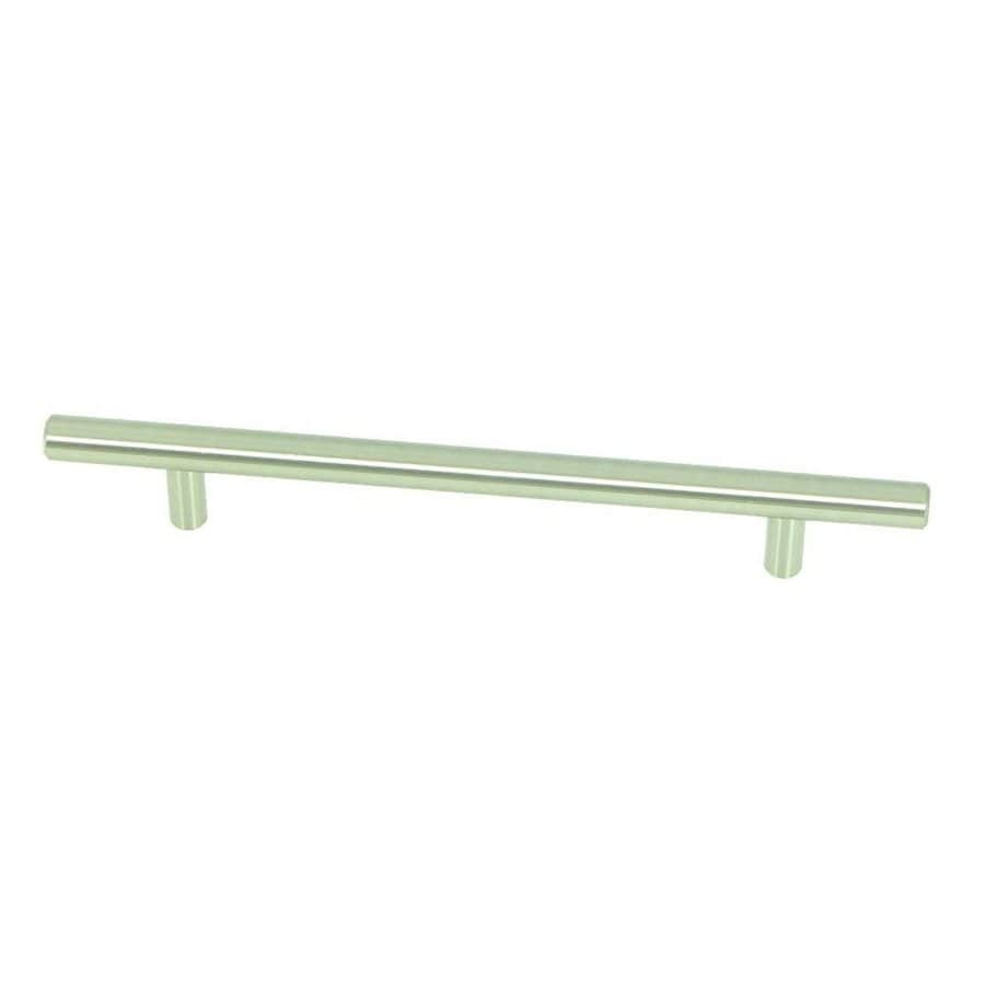 Stone Mill Hardware 6-in Center-to-Center Stainless Steel Stockholm Bar Cabinet Pull