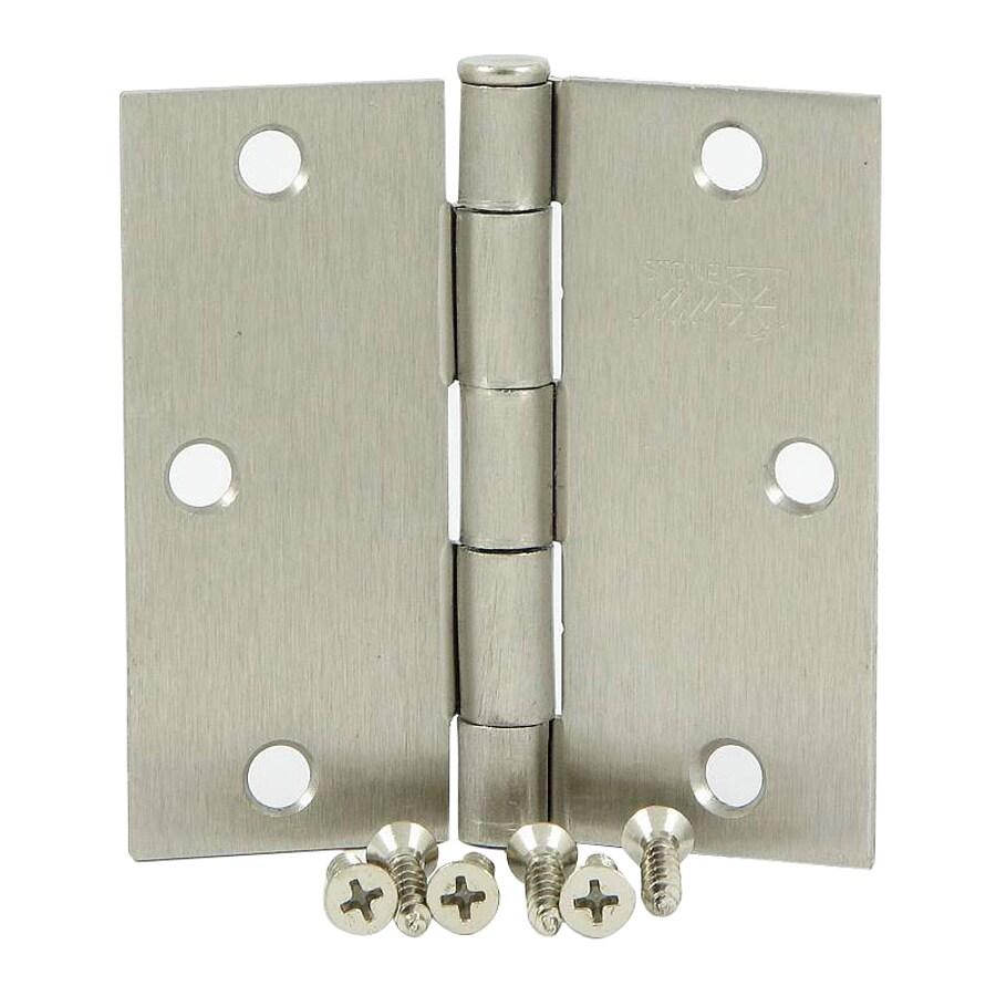 Stone Mill Hardware Satin Nickel Door Hinge