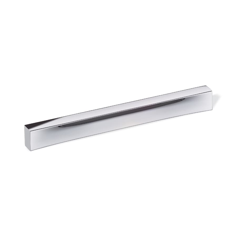 Schwinn Hardware 7-9/16-in Center-to-Center Polished Chrome Bar Cabinet Pull