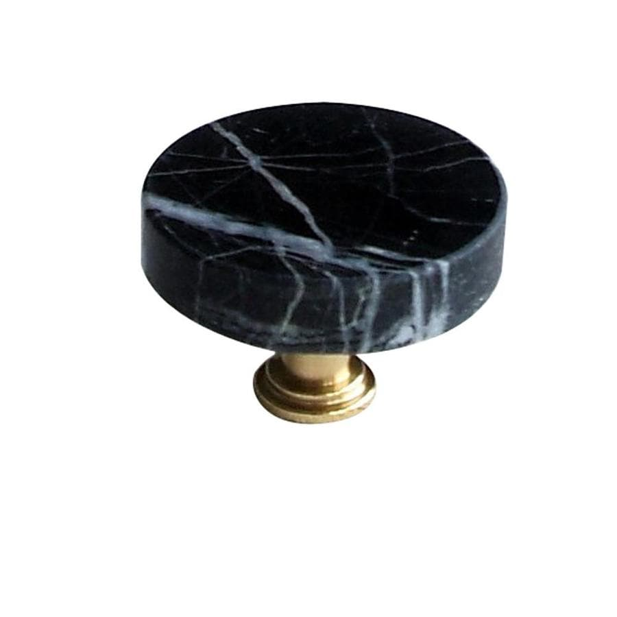 Vine Designs 1-5/8-in Satin Nickel Tuscany Round Cabinet Knob