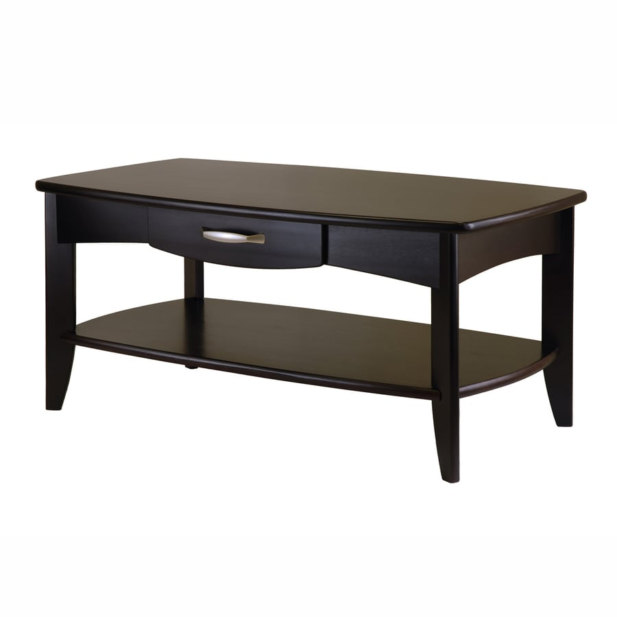 Shop Winsome Wood Danica Dark Espresso Rectangular Coffee Table At