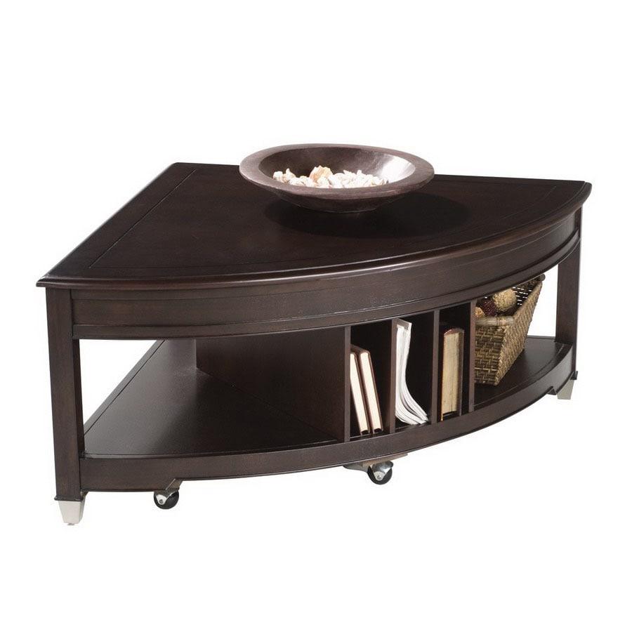 Magnussen Home Darien Burnt Umber Corner Coffee Table