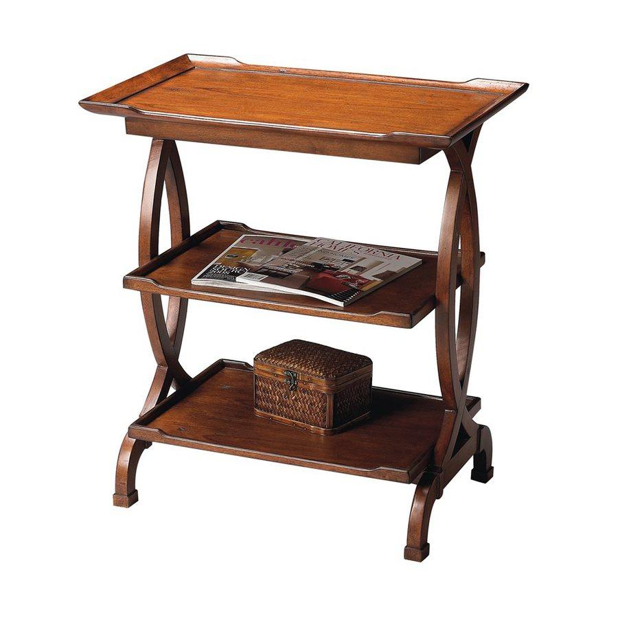 Butler Specialty Butler Loft Old World Cherry Rectangular End Table