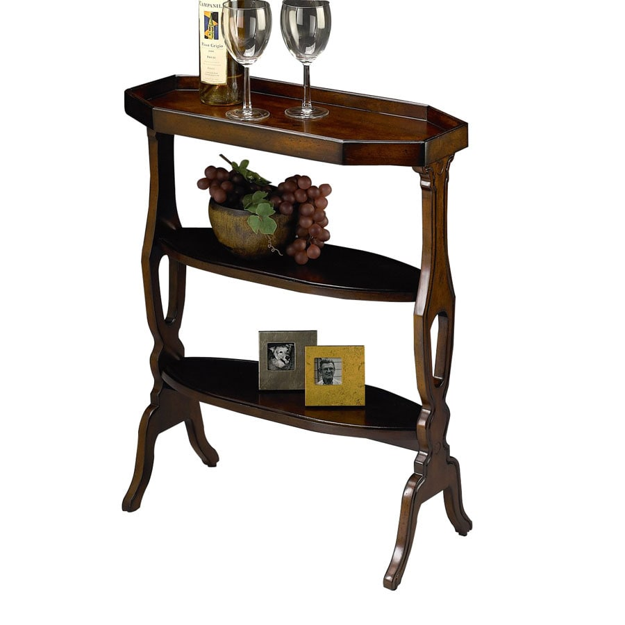 Butler Specialty Plantation Plum Black Oval End Table