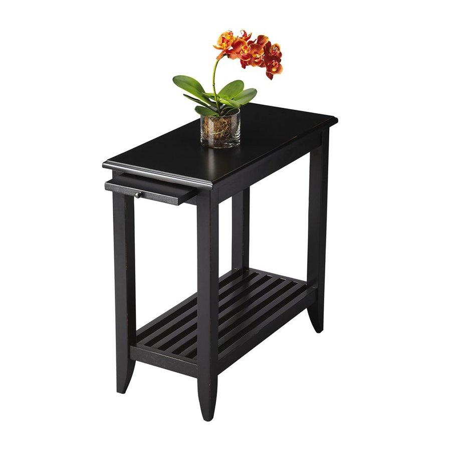 Butler Specialty Butler Loft Black Licorice Rectangular End Table