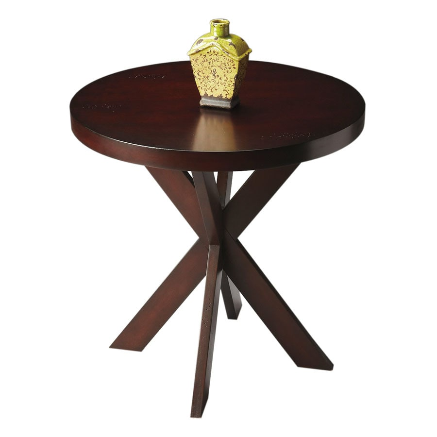 Butler Specialty Butler Loft Chocolate Cherry Round End Table